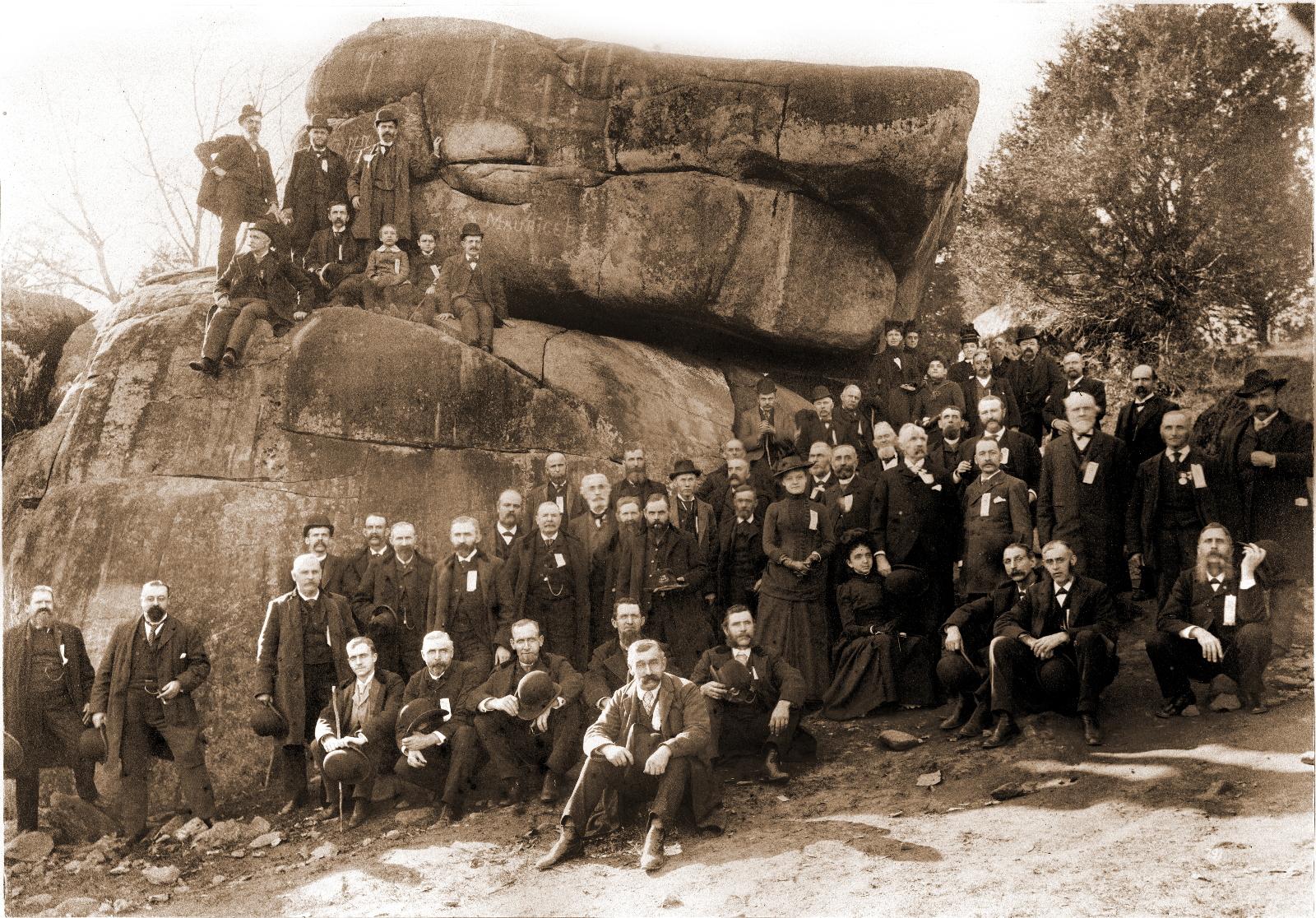 william h tipton s photos at devil s den gettysburg